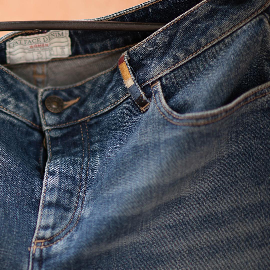 Fat face шорты джинсовые (шоу-рум)