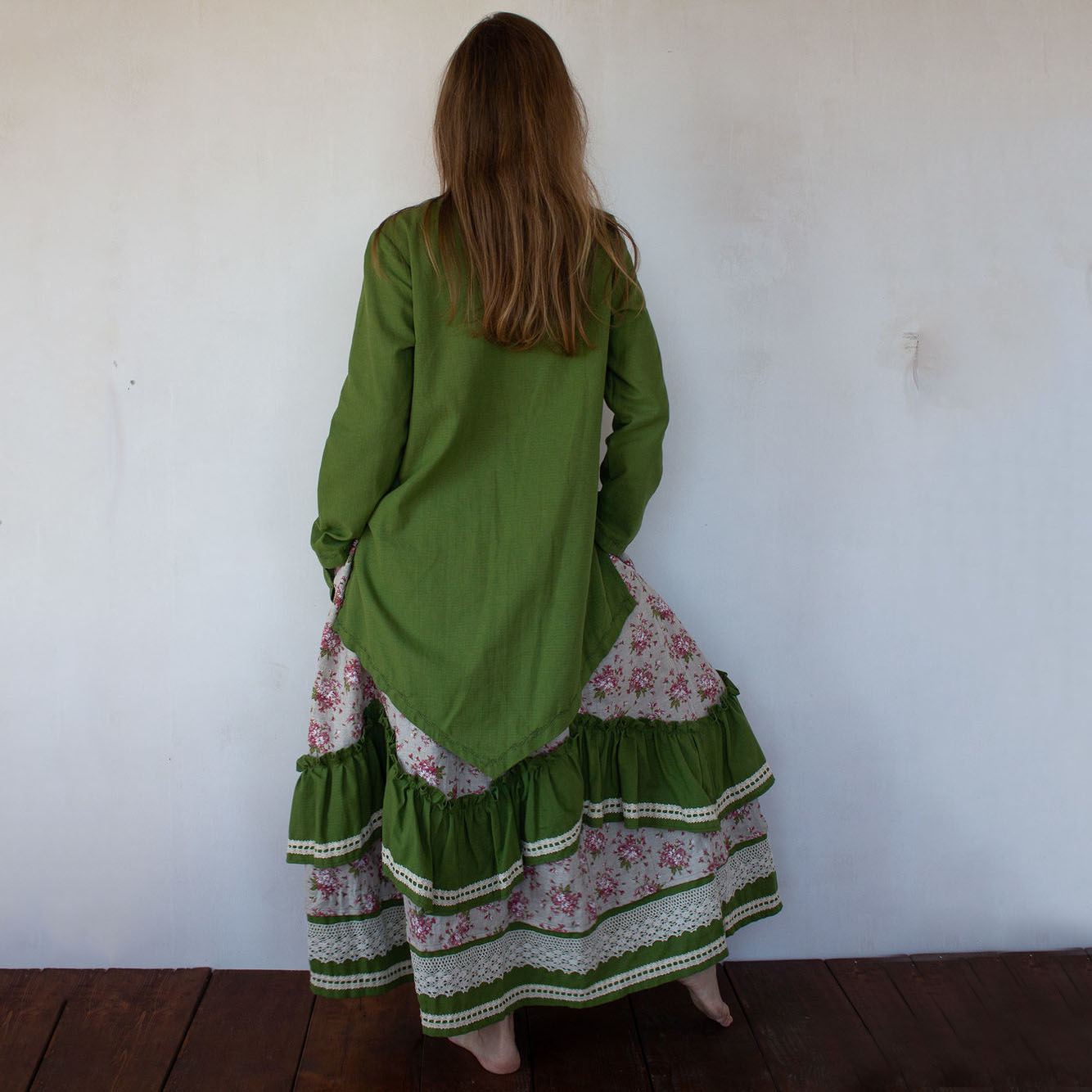 MarlЁn комплект юбка и туника Русская красавица (1)