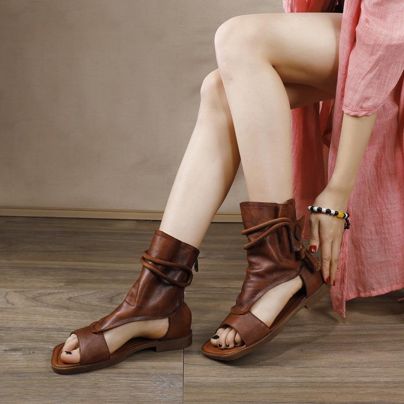 Susemade высокие этно сандалии (1)