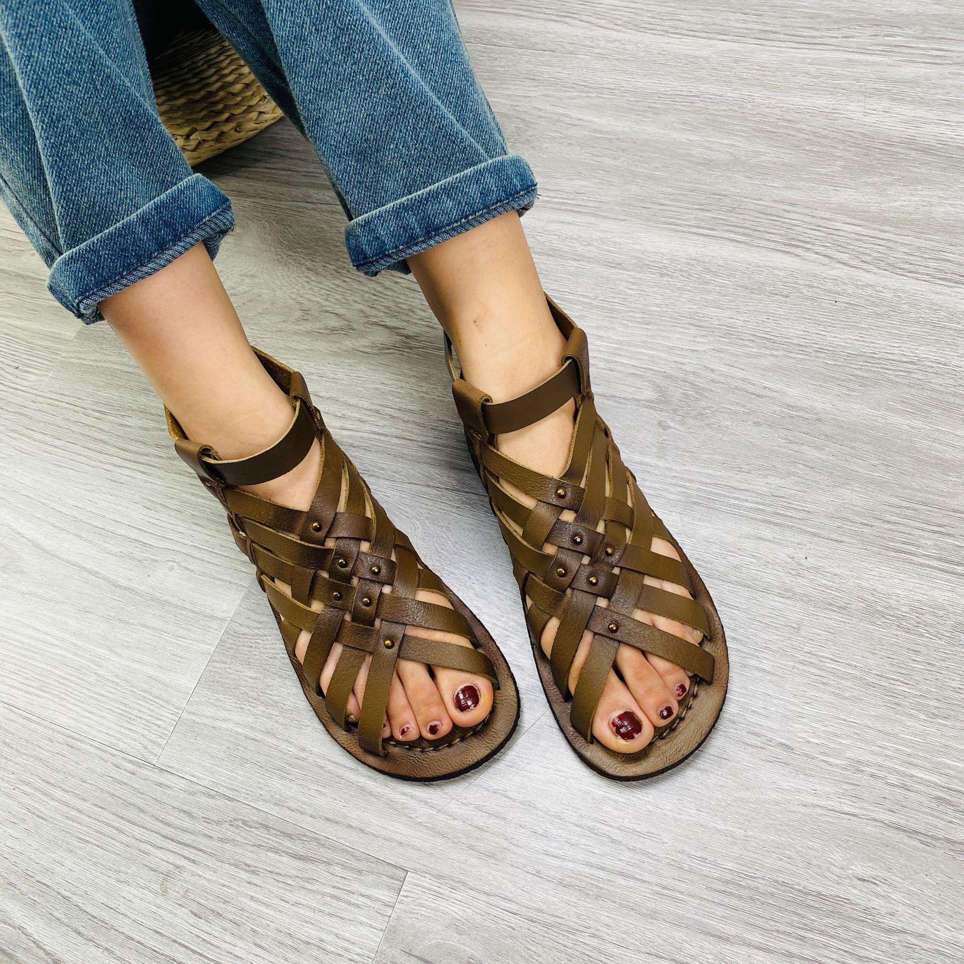 Susemade плетёные плоские сандалии