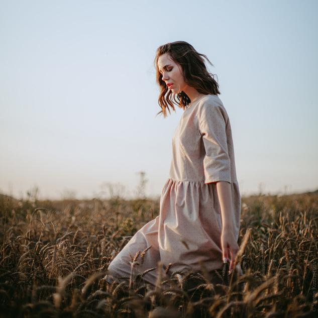 WonderMary платье Пшеничное