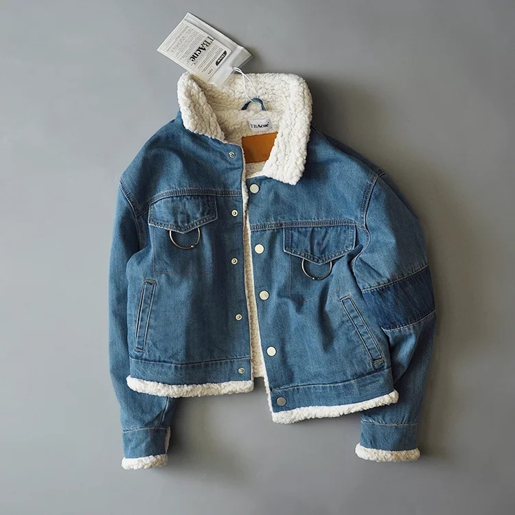 Findit джинсовая ретро-куртка