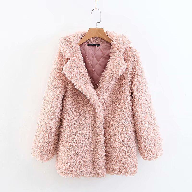 Findit плюшевое короткое пальто