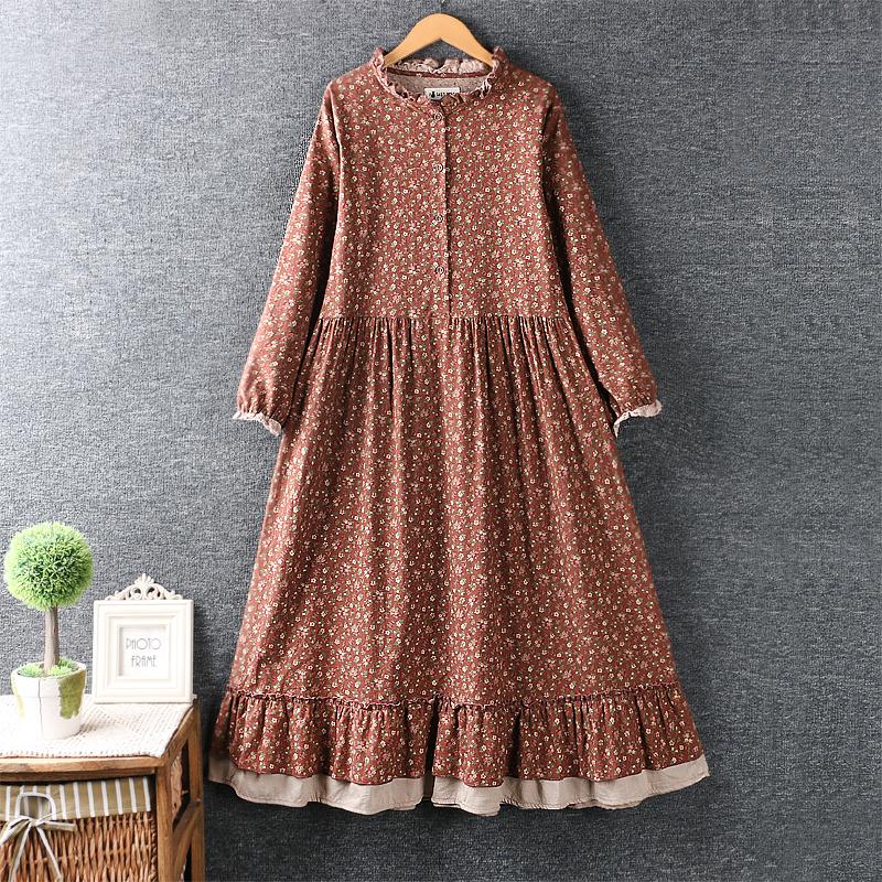 Findit платье с пуговками на груди (1)