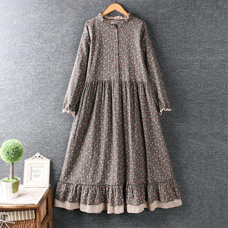 Findit платье с пуговками на груди