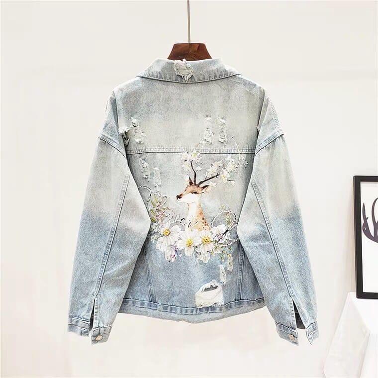 Джинсовая куртка (шоу-рум)