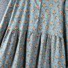 Left-Lefty платье в цветочек с кружевом