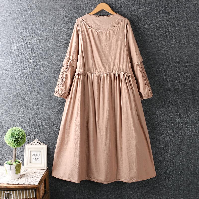 Left-Lefty платье двойное с кружевом