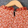 Left-Lefty платье ярусное в цветочек
