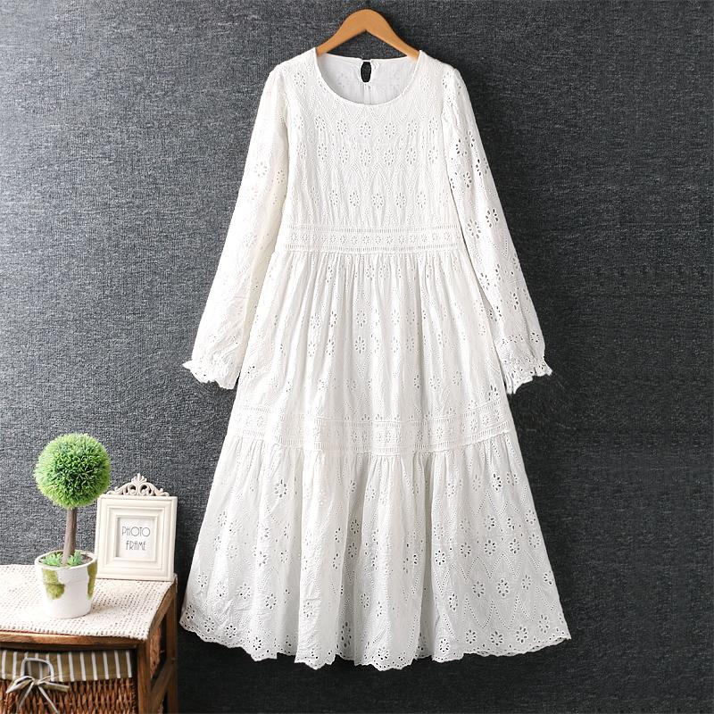Left-Lefty платье ярусное кружевное (14)