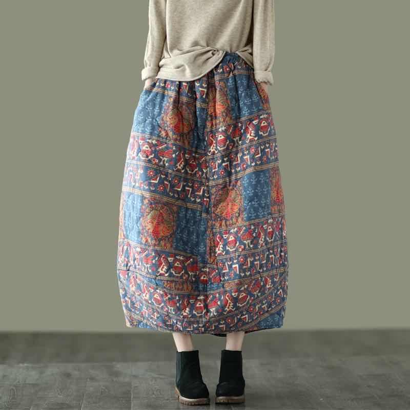Sweet corset стеганая юбка в стиле ретро