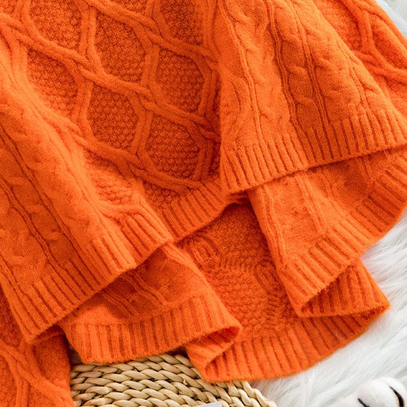 AijieNi короткий свитер