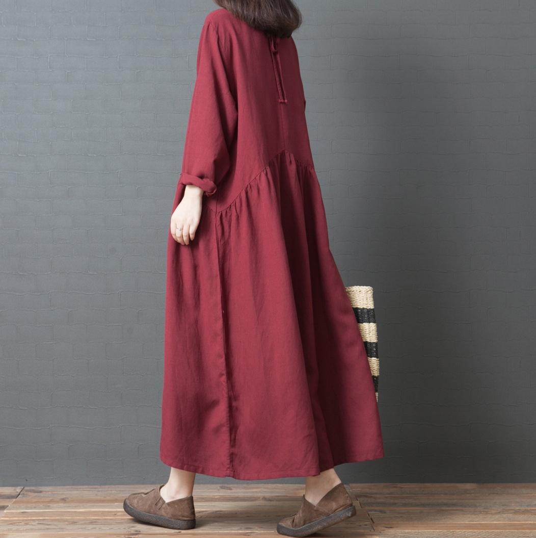 Платье из конопли