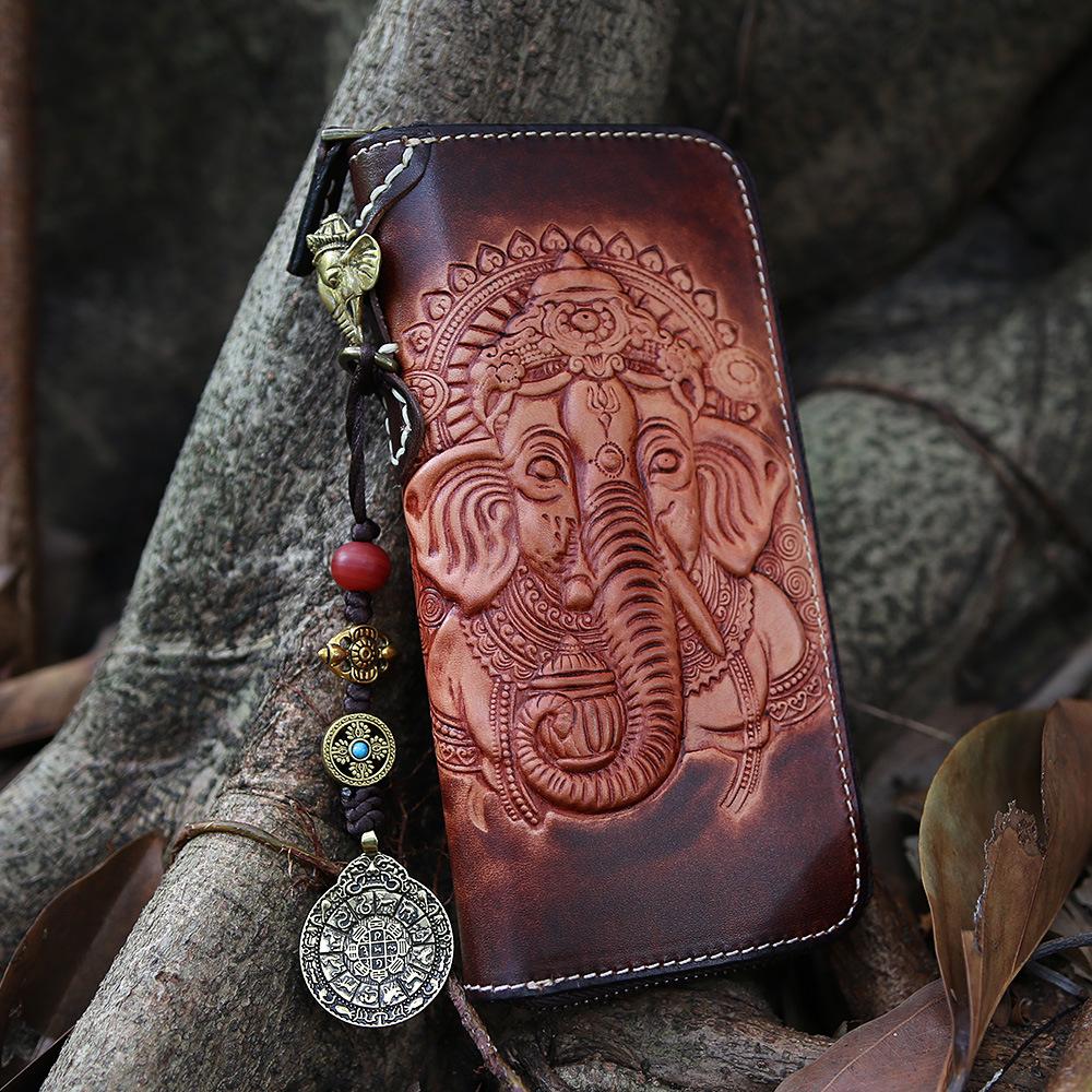 Akamoy кошелёк на молнии