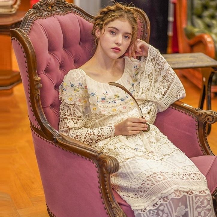 Liner платье французский винтаж