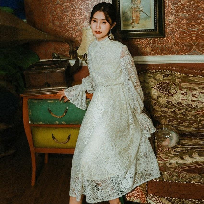 MOK кружевное платье