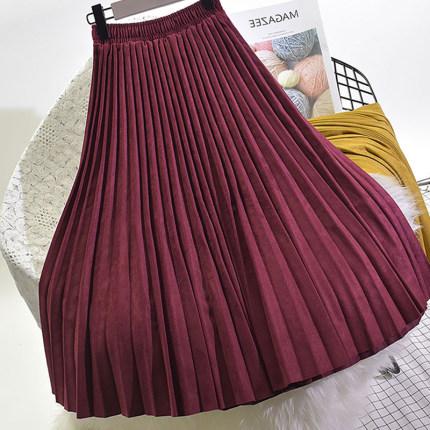 Цветные юбки под замшу (шоу-рум)