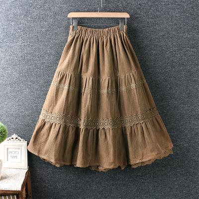 Вельветовая юбка (шоу-рум)