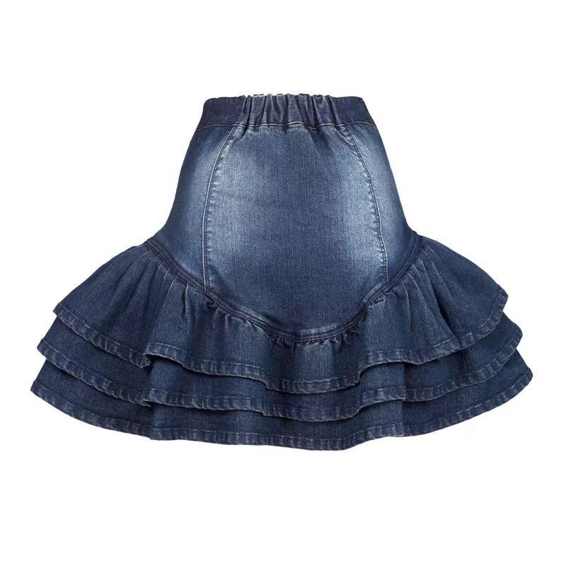 Artka джинсовая юбка с вышивкой