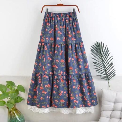 Микровельветовые юбки с кружевом (шоу-рум)