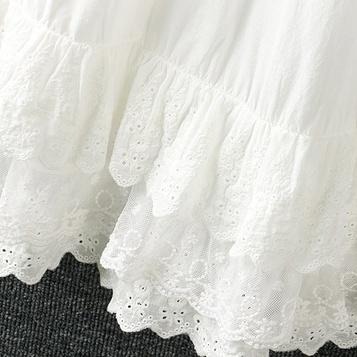 Нижняя юбка с кружевом (шоу-рум)