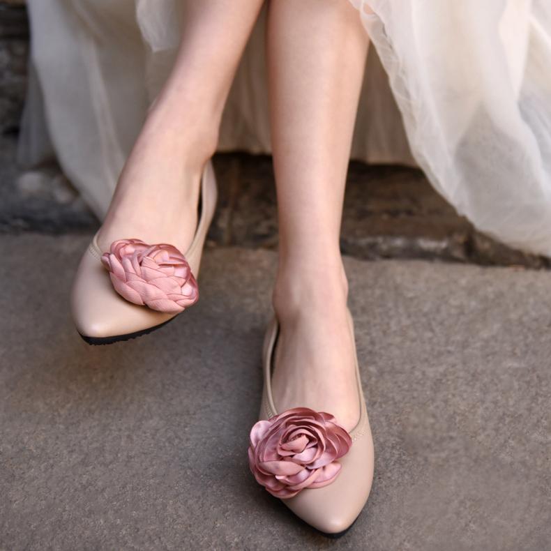 Artmu остроносые туфли с цветком