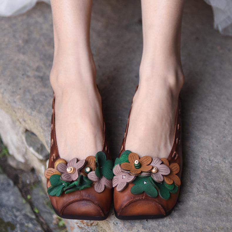 Artmu туфли с лесными цветами
