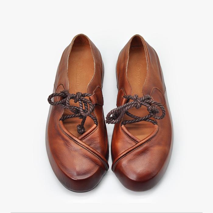 Artmu ретро-туфли со шнурком