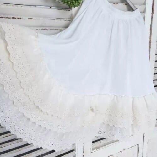 Нижняя юбка с кружевом (Серпухов)