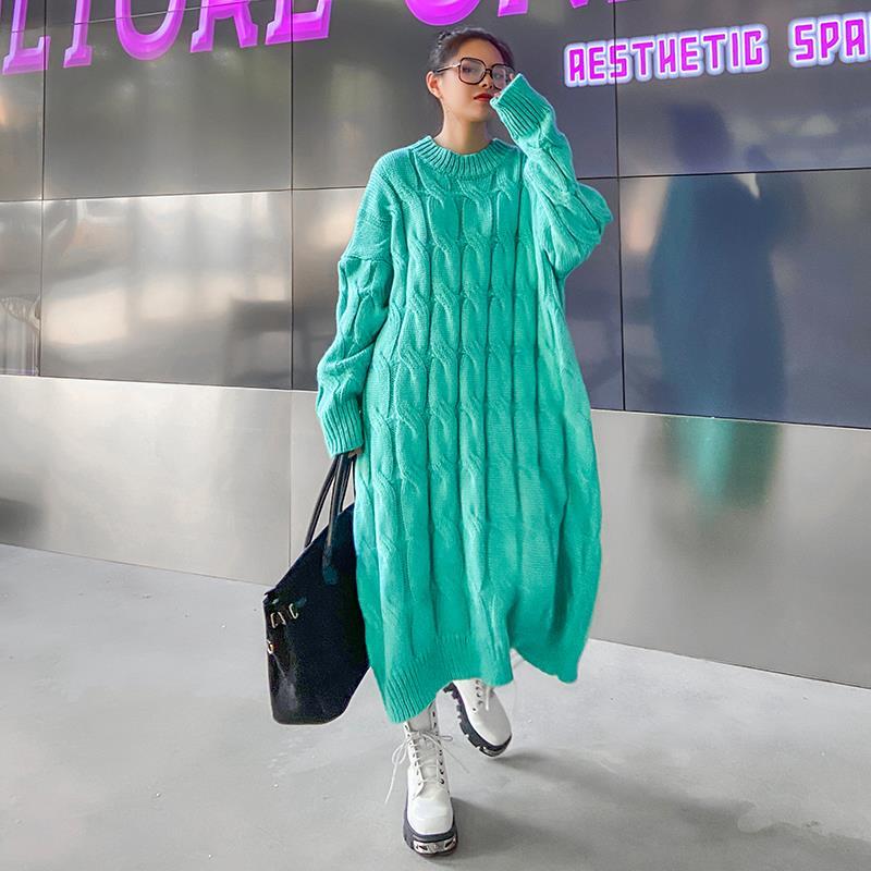 Тёплое вязаное платье (Серпухов)