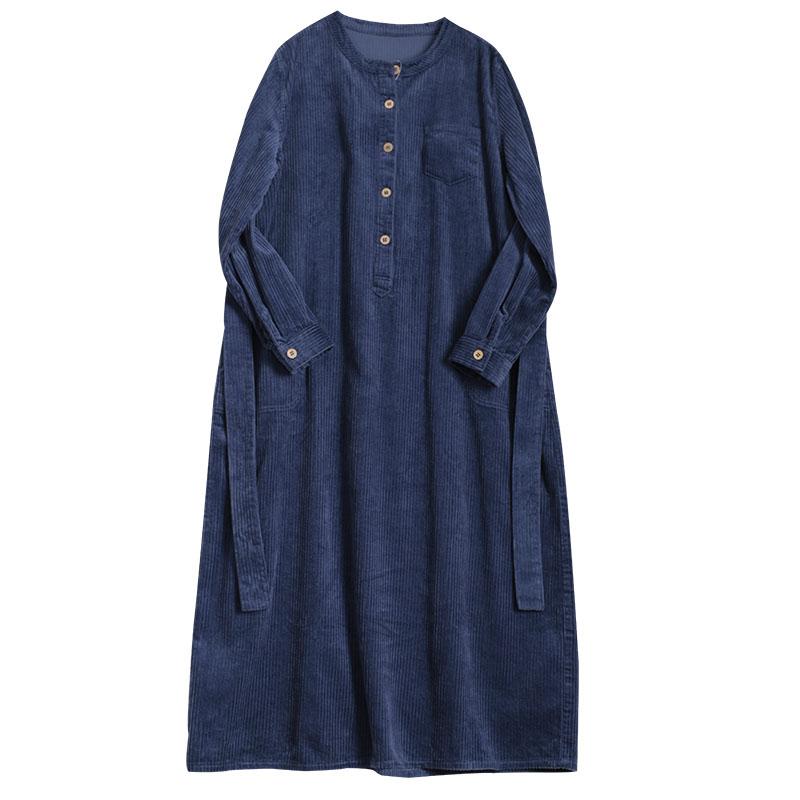 Плотное вельветовое платье (Серпухов)