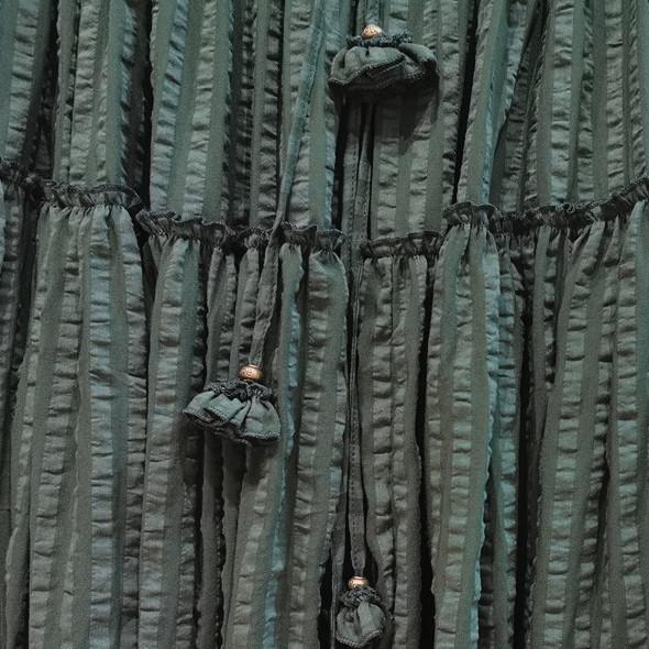 Летняя зелёная ярусная юбочка (Серпухов)