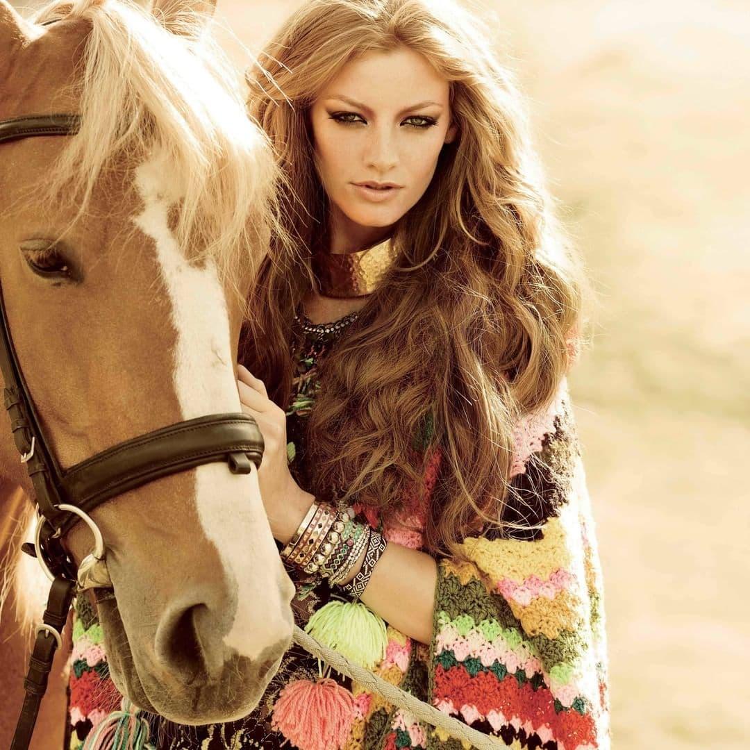 Лошадь – главное бохо-животное