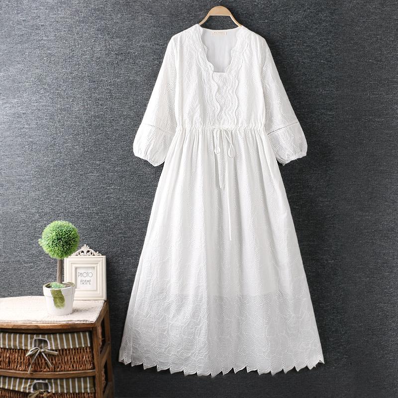 Left-Lefty белое платье с кружевом