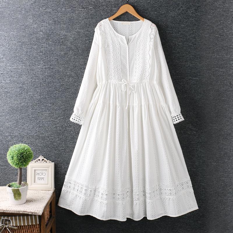 Left-Lefty белое кружевное платье