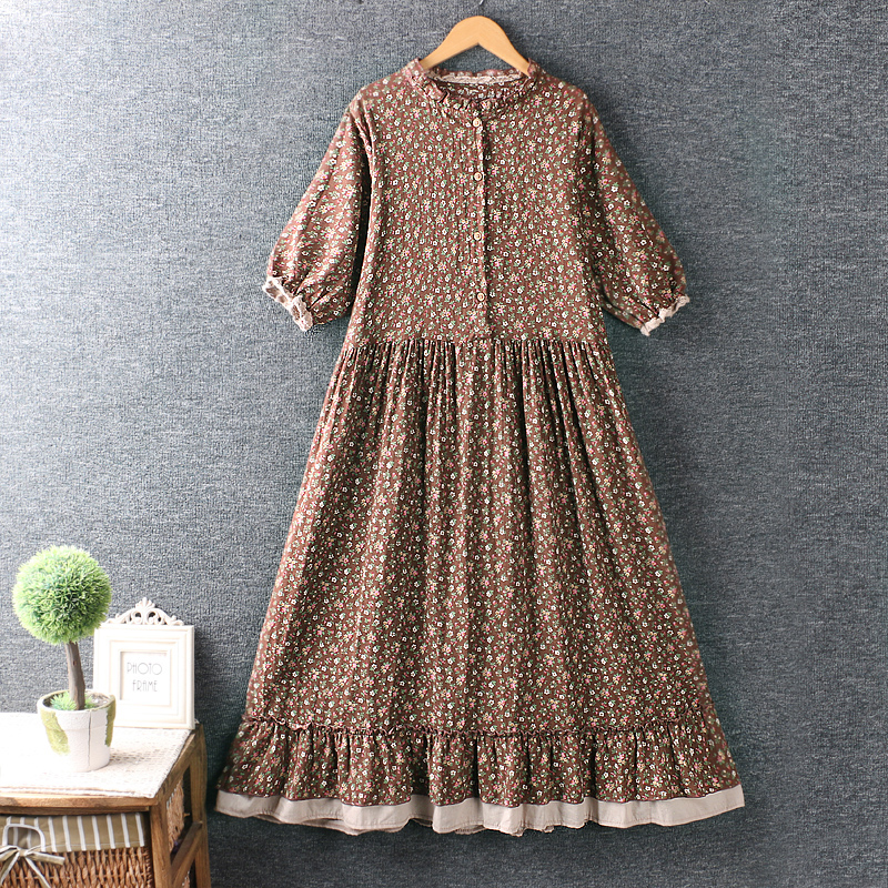 Left-Lefty цветочное платье с оборками