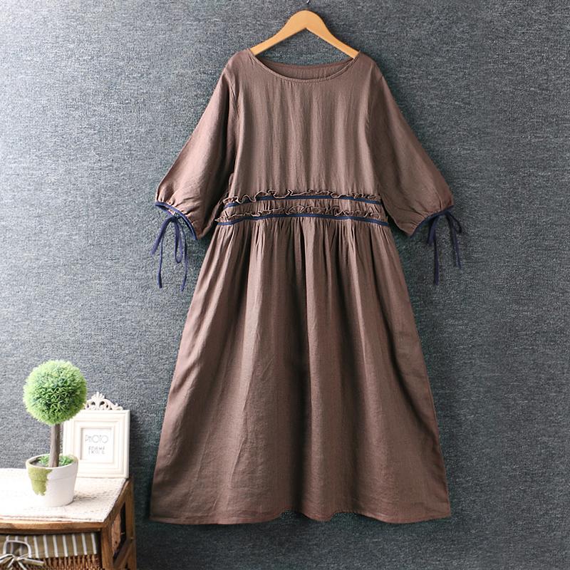 Left-Lefty платье с завязками на рукавах