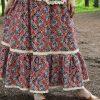 Nata Schu хлопковая юбка в стиле бохо