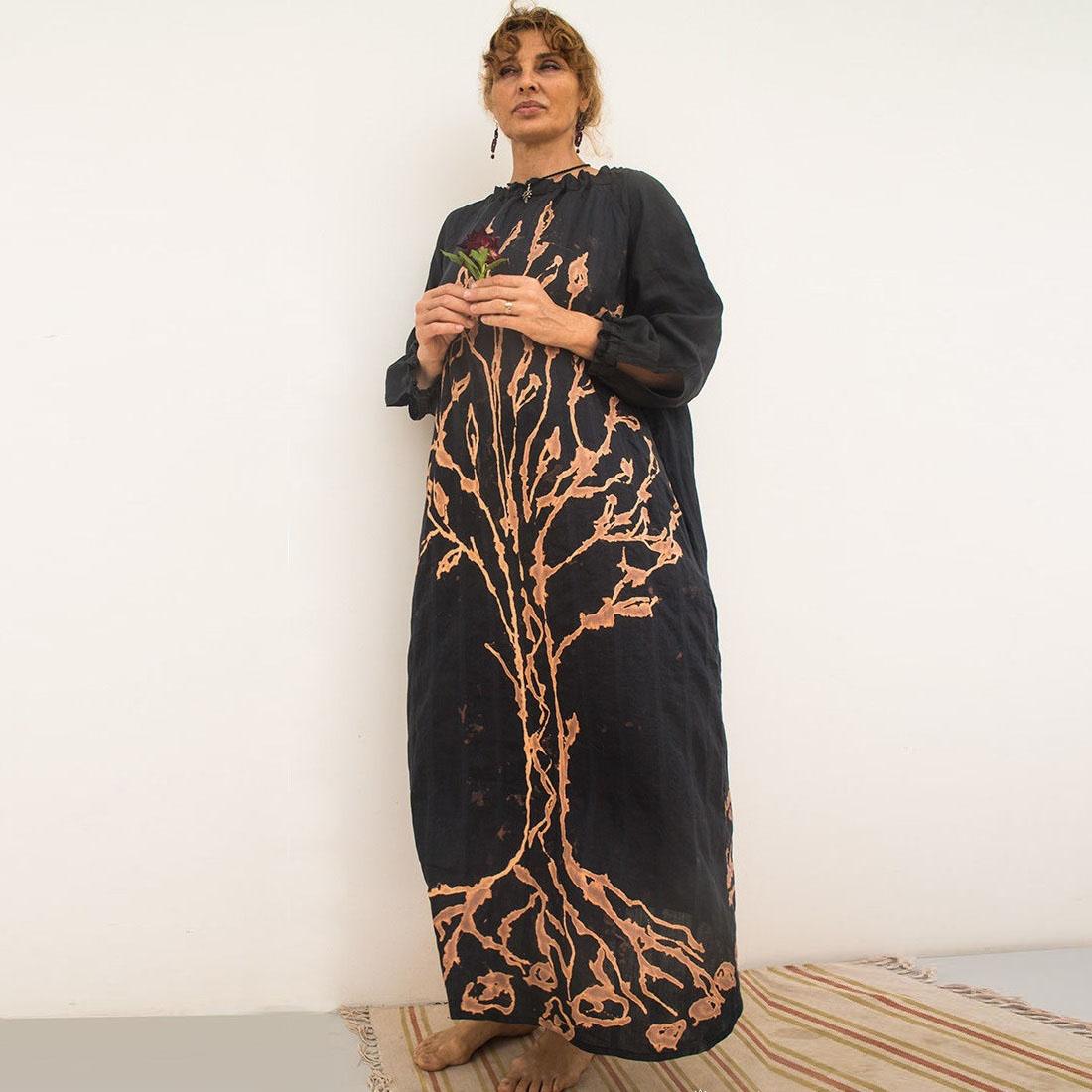 "MarlЁn платье ""Древо жизни"" двухстороннее"