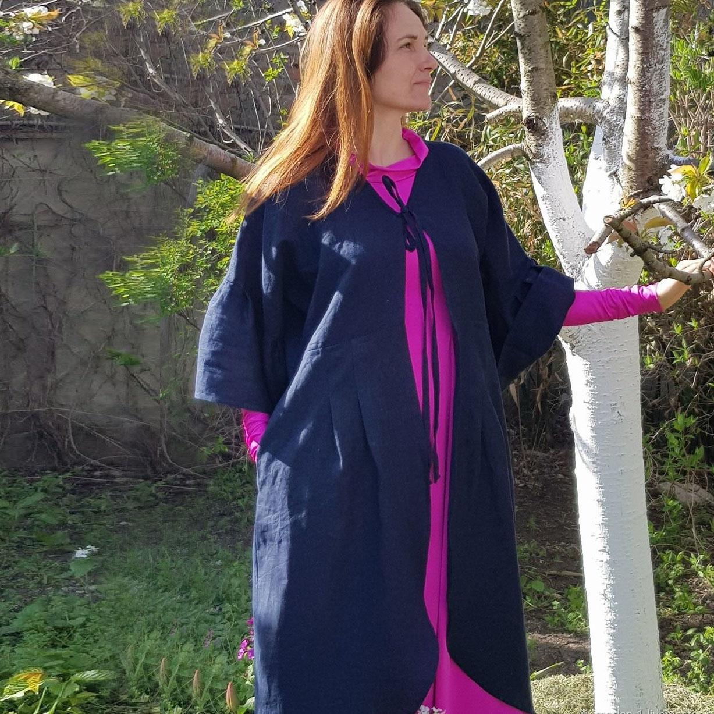 MarlЁn пальто с ручной вышивкой на спине