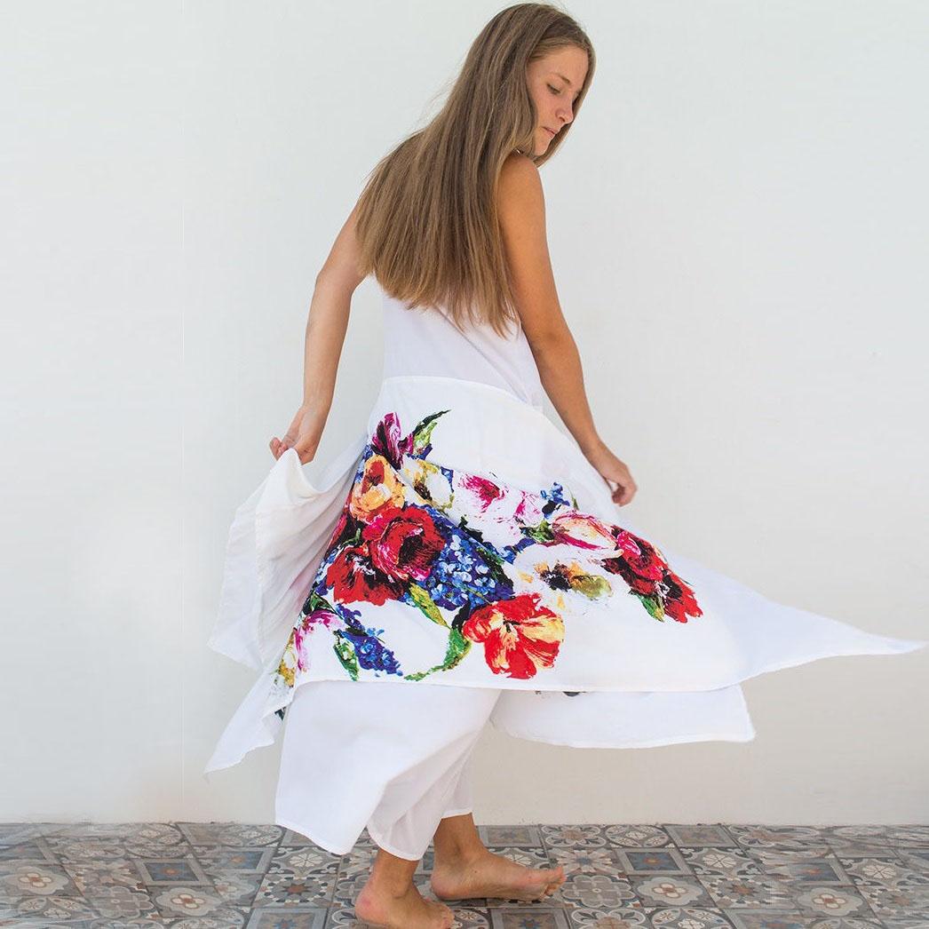 """MarlЁn платье с цветочным орнаментом """"Лето"""""""
