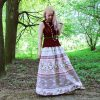 Nata Schu хлопковая юбка-макси