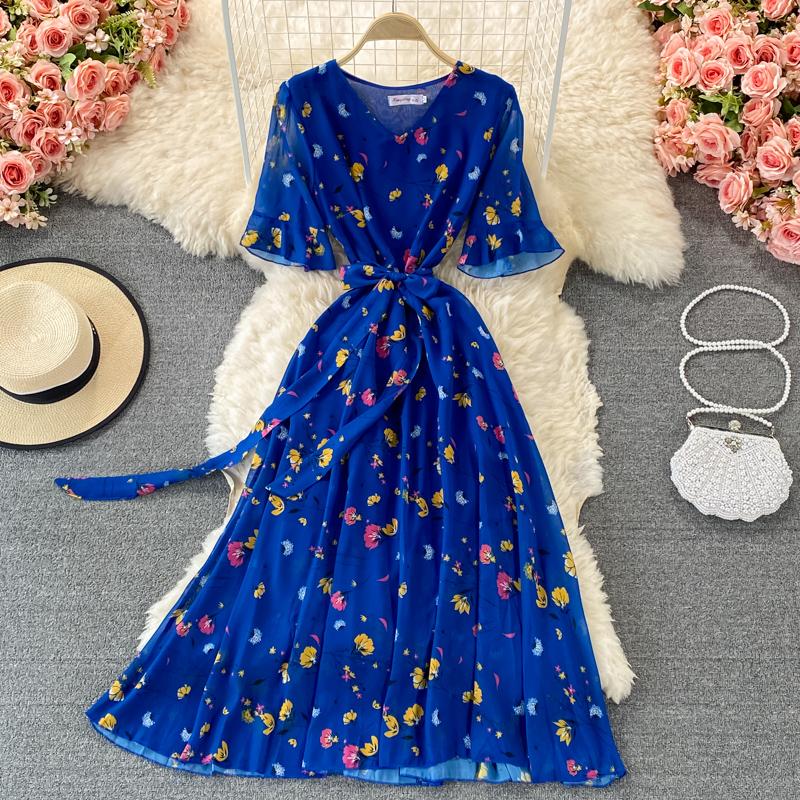 Длинное шифоновое платье (Серпухов)